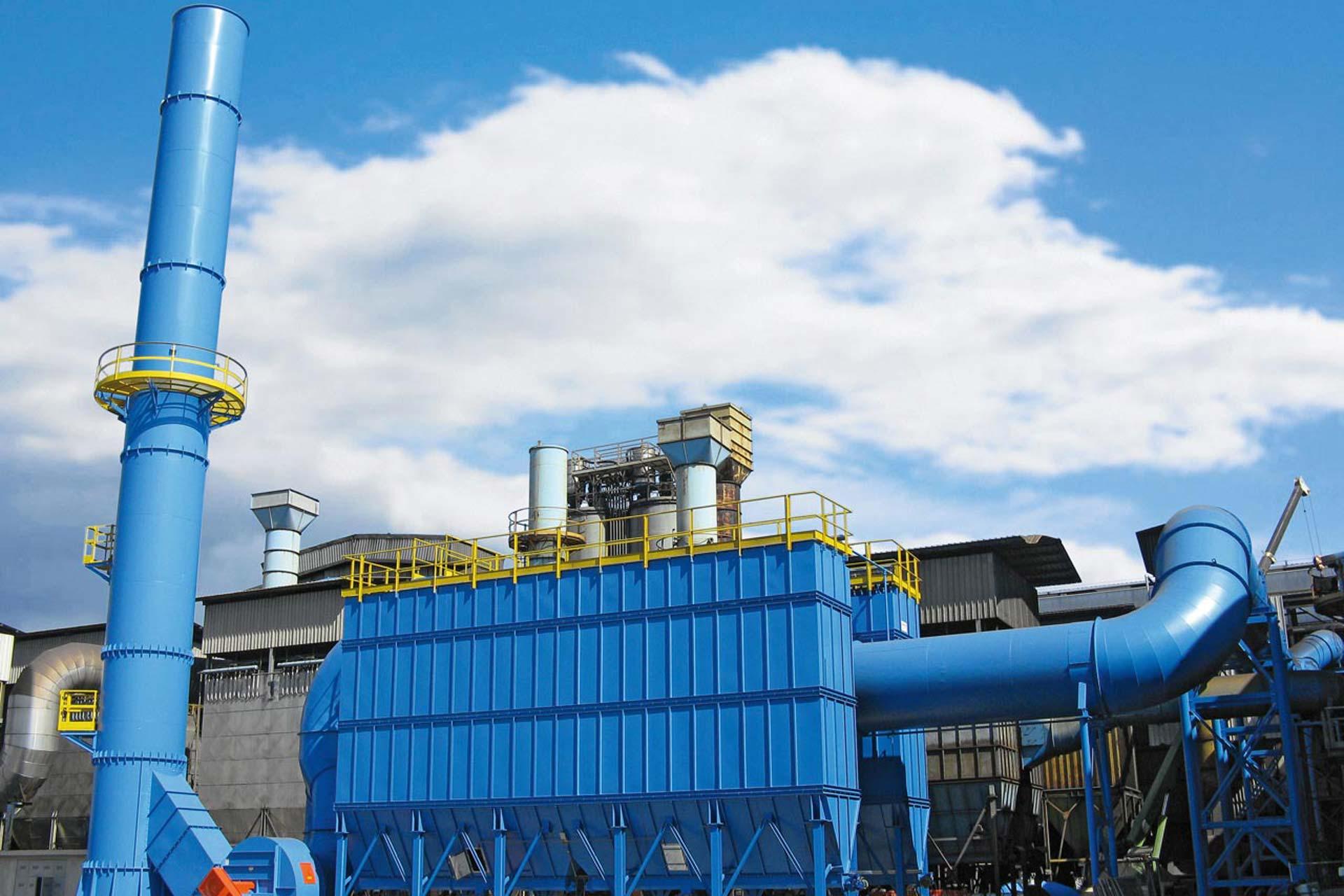 Schlauchfilter, Abluftreinigung, Entstaubung, Filteranlage, Rauchgasentstaubung, Umwelttechnik